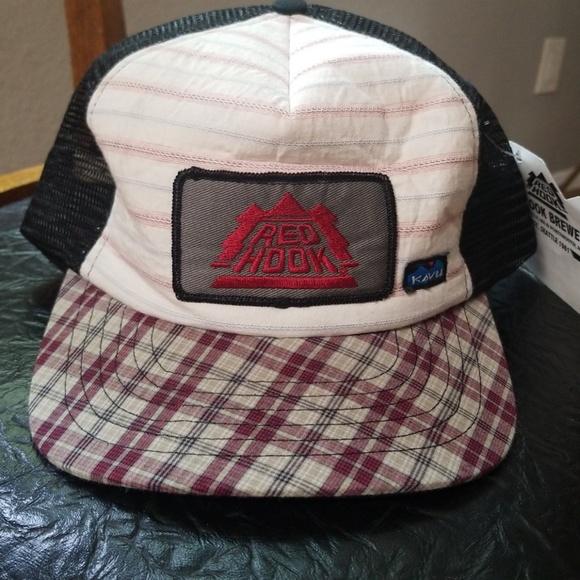 105477e2740be NWT Kavu Redhook Brewing OOAK Trucker Hat